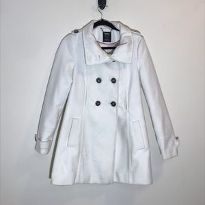 Zara button up coat